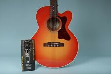 Gibson Parlor Modern Mahogany M Acoustic-Electric Guitar Cherry Burst