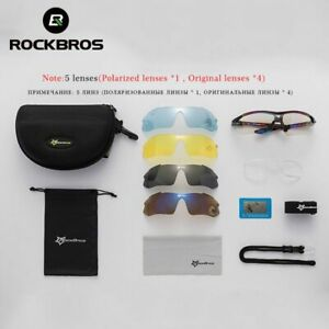 Polarized Cycling Sun Glasses Outdoor Sports Bicycle Prescription glasses Bins