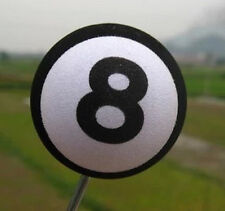 Lucky 8 Pool Magic Antenna Balls Car Aerial Ball Antenna Topper Decor Ball new
