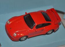 CARARAMA / HONGWELL - PORSCHE 911 GT2 - RACING RED - 1:72 SCALE MODEL SPORTS CAR