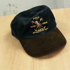 Polo Ralph Lauren corduroy toddler cap hat baseball strapback colorblock vtg