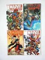 Marvel Team Up TPB Vol 1 2 3 4 Spider-Man X-Men 1st Printings Kirkman 2005