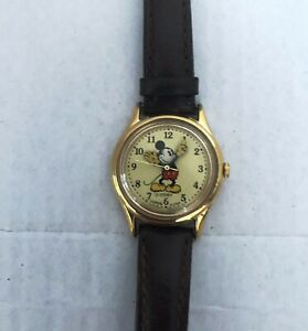 vintage mickey mouse watch lorus