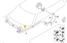 Tubazione DSC freno posteriore destro M12-M10 -ORIGINALE- MINI Clubman F54