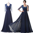 New Long Mother of the Bride Evening Ball Gown Pageant Dress Wedding Party Prom