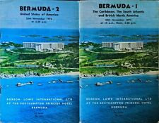 Two 1975 Robson Lowe Auction Catalogues Usa Caribbean S. Atlantic Bna Canada