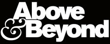 Above & Beyond logo sticker trance dance dj flight case tiesto dash berlin house