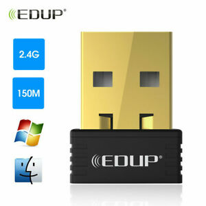 EDUP 150M USB WiFi Wireless Network Adapters Dongle for Desktop PC Laptop EP8553