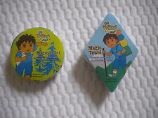 Lot of 2 GO DIEGO GO Magic Towel Wash cloth Party Favors