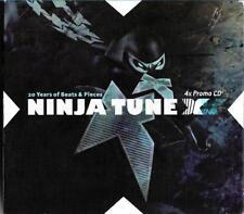 Ninja Tune - promotional 4cd set,20 years of beats & pieces