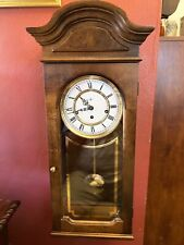 Howard Miller Wall Clock Westminster Chime Key Wind Pendulum Movement.