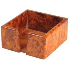 Zettelbox Stiftehalter Zettelklotz Zettelhalter Notizblock Box Büro Holz Thuja