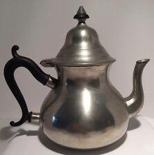 Vintage Royal Holland Pewter Repop Sleepy Hollow Tea Pot