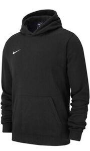 Nike Team Club 19 Unisex Hoodie Black Large(see description for sizing)