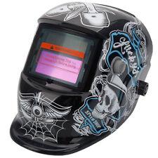 Welding Helmet Skeleton&Cobweb Auto Darkening Mig Tig Arc Welder Protective Mask