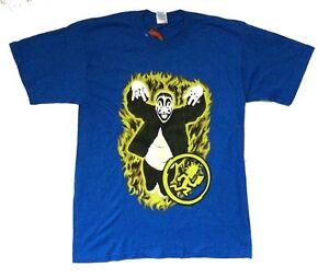 Insane Clown Posse Yellow Flames Violent J Blue T Shirt New Official ICP Merch
