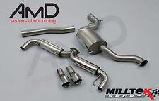 """Mk6 Golf GTI Milltek SPORT 3"""" Cat-Auspuff mit polierten tail pipes"""