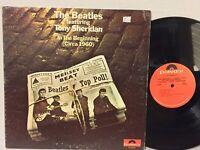 Beatles Featuring Tony Sheridan In The Beginning Circa 1960 VG+ ORIG GATEFOLD
