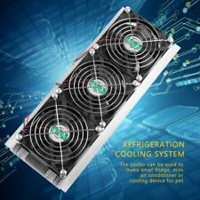 12V Semiconductor Thermoelectric Peltier Refrigeration Cooler Fan Heatsink Kit