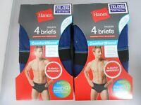 Hanes Men's Tagless Briefs 8-PACK COMFORTBLEND/XTEMP SIZE M-2XL