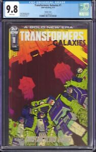 Transformers Galaxies #1 (IDW Publishing, 2019) CGC 9.8 Variant Cover