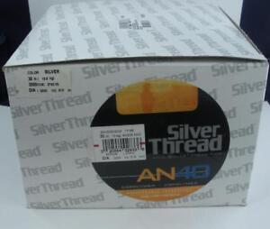 Bagley ZAN30S03000 30Lb Test Silver Thread An40 Copolymer Line 3000Yd Silv 26379