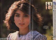Coupure de presse Clipping 1986 Reza Pahlavi & Yasmine (2 page) filles Shah Iran