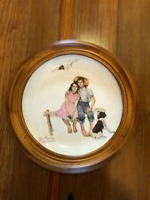Norman Rockwell Collector Plates Four Seasons