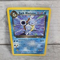 Dark Blastoise 20/82 Team Rocket Non Holo Pokemon Card Played