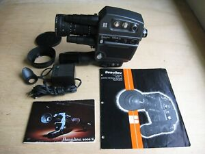 Beaulieu 5008S Super 8MM Camera w/Schneider 6-66MM f/1.8 Lens Instructions Book