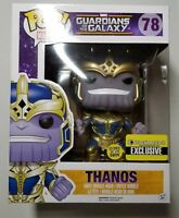 FUNKO POP! MARVEL THANOS GUARDIANS OF GALAXY ENTERTAINMENT EARTH EXCLUSIVE GLOW