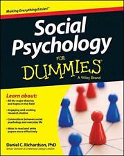 Social Psychology For Dummies(R) by Richardson, Daniel Paperback Book 978111