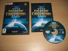 GALACTIC Civilizations II 2-Endless Universe-Standalone Expansion PC CD ROM