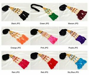 Indian Bollywood Multi Punjabi Choti, Paranda Paranda Hair Accessories Jewelry