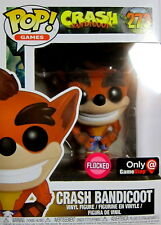 CRASH BANDICOOT Crash Bandicoot - Funko Pop! Limited Flocked Edition
