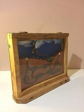 Vintage Wooden Ant Farm, FREE Ants Included!, Great science birthday gift toy.
