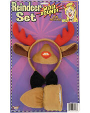 Morris Costumes Appropriate Animal Noise Reindeer Sound Set One Size. FM61728