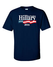 Hillary Clinton 2016 Hillary For President T-shirt New S-5Xl