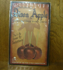 Halloween Sign #44876B THE ORIGINAL Poison Apple, Don't be Fooled by Imitations