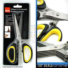 B&Q Security Scissors, Shredders, Paper Shredder, Document Shredding Scissors