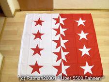 Fahnen Flagge Schweiz Wallis - 120 x 120 cm