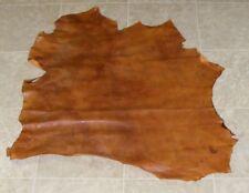 (Dae10323-1) Hide of 2 Tone Brown Lambskin Leather Hide Skin