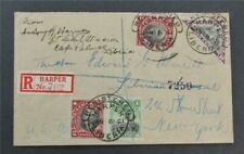 nystamps Liberia Stamp Used Early Cover Rare