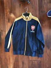 Arsenal Navy and Gold Light Weight Jacket in Boys Size Medium