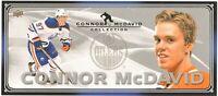 2015-16 UD Connor McDavid Collection Jumbo Rookie Card #C-1 Edmonton Oilers
