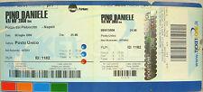 """PINO DANIELE """"VAI MO' 2008 LIVE""""  biglietto integro concerto NAPOLI   2008"""