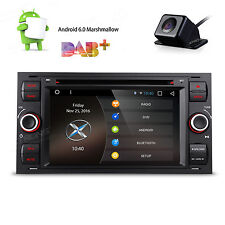 """Camera+ Android 6.0 7"""" Car GPS Navi DVD Stereo Player OBD2 Radio for Ford Focus"""