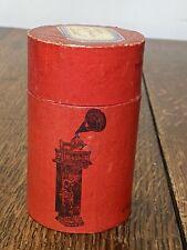 Cylindre Bettini phonographe rare , no Lioret