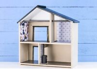 Wooden Doll House Systems (from Australia) Blue