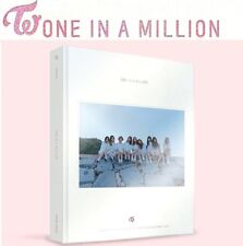 TWICE 1st PHOTOBOOK ONE IN A MILLION PHOTO BOOK 310p+DVD+Express Shipping K-POP